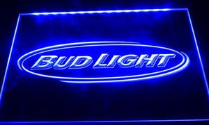 LS035-b birra Bud light bar pub del club nr neon segni della luce