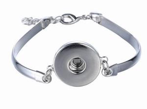 Noosa métal bouton pression bracelet charme bracelet jonc bijoux interchangeables gingembre boutons pression bijoux mousqueton bracelet assortis modèles