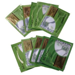 100PCS (50PAIRS) Masques pour les yeux au cristal de collagène Anti-âge Anti-poches Cercle foncé Paupière Anti-rides Humidité Soins Yeux