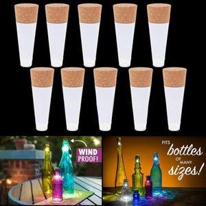 Magic Cork Shaped Wiederaufladbare Weinflasche USB Nachtlicht Cork Stopper Cap Lampe Creative Tomantic Cork Lights Atmosphere Lights