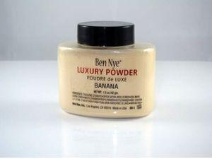 2015 newest Ben Nye Luxury Powder 42g New Natural Face Loose Powder Waterproof Nutritious Banana Brighten Long-lasting