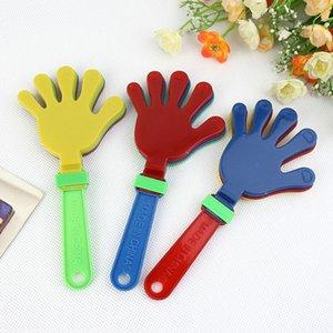 Grade plástica Mão Clapper aplauso Toy condução do elogio aplauso para Olympic Game Tootball Jogo Noise Maker bebê Kid Pet Toy Cheerleading