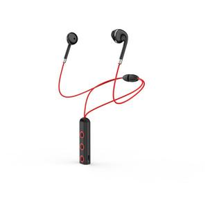 Neckband المحمولة إلغاء الضوضاء سماعة ستيريو الرياضة في الأذن سماعات أذن ميكروفون تشغيل BT313 اللاسلكية بلوتوث 4.1 سماعات