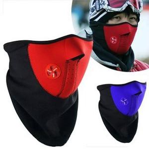 Envío Gratis 2 unids / lote Cálido Otoño Invierno Sombrero Máscaras de Motocicleta Moto Equipamiento de Bicicleta Protección contra el Viento Ridder Mascarilla