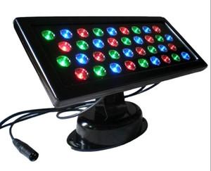 Ac85v / 265V 36W встроенный DMX-декодер RGB квадратной формы led Wall washer ip65 водонепроницаемый используется для освещения украшения отеля