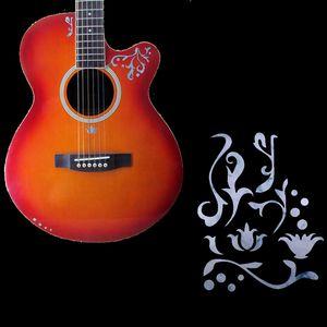Sıcak Satış DIY Gitar Klavye Kakma Sticker Gitar Boyun Headstock Fret Çıkartmaları Uzay Serisi Guitarra Ukulele Kakma Sticker