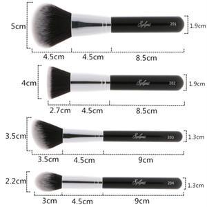 Soft Hair Make Up Brushes Kit Tools Sylyne Professional Makeup Brush Set High Quality 10pcs Makeup Brushes Classic Black Handle