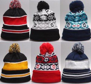 HOT 2015 berretti invernali di alta qualità Super spessa Beanie per uomo donna Skullies Autunno maglia di cotone berretto HipHop berretti di lana cappelli SPORT