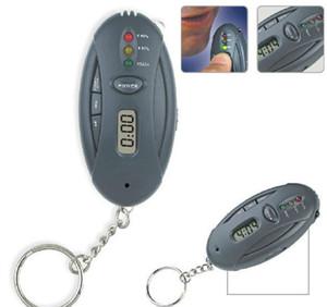 Persönliche Atem Digital LCD Alkohol Tester Uhr Timer Taschenlampe PFT-62 Tester Analyzer Atem Alkoholtester Fahrbahn Sicherheit