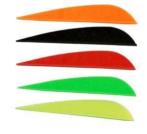 """100 PK en plastique de haute qualité 3 pouces flèche à palettes 3 """"flèche plume pour chasse à l'arc à poulies"""