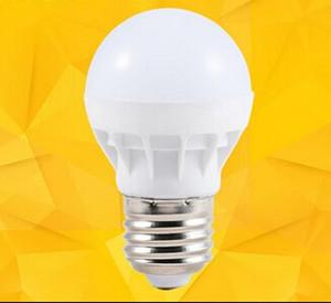 LED Ampuller lamba E27 Küresel Ampüller Işıklar 3W LED Ampuller Beyaz Süper Parlak Işık Ampul LED Işık Enerji tasarruflu Isınma Soket