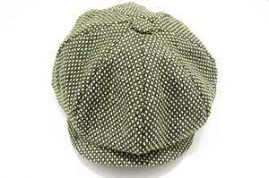Toptan-2015 Kış Unisex Ördek Gagası Ivy Kap Golf Sürüş Düz Cabbie Newsboy Bere Şapka Xmas