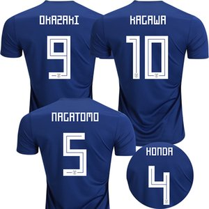 camicia KAGAWA Mondiali di calcio 2018 in Giappone calcio maglie OKAZAKI Camisa de futebol HONDA Japan National Camiseta NAGATOMO maillot de foot