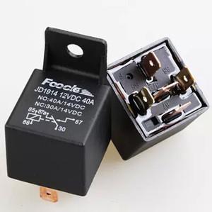 Al por mayor-Nuevo arrivel venta caliente Lot10 Car Truck Auto 12V 40A SPDT Relay Socket 5Pin Relays 5 Wire