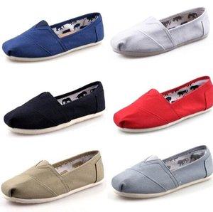 DORP libero 2015 Nuovo commercio all'ingrosso donne e uomini moda sneakers scarpe di tela mocassini appartamenti espadrillas scarpe taglia 35-45
