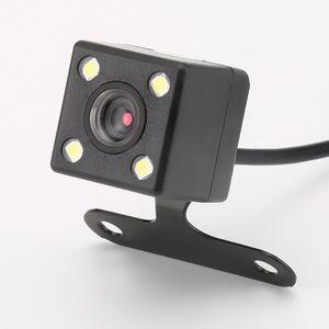 GPS 4 Led-lampen Rückfahrkamera Nachtsicht HD CDD Rückfahrkamera Objektiv 2,5mm Klinke mit 6 Meter Kabel für Auto Dvr Spiegel Recorder
