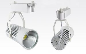 20W COB LED Faretti a binario Faretti Super Bright 20 Watts Indoor Gallery Abbigliamento Negozio Spot Lampadine Lampada Bianco caldo Bianco freddo CE ROSH