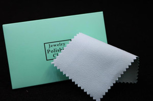 Epackfree 100pcs silver polish cloth cleaning polishing with package silver cleaning cloth wiping cloth BB silver suede maintenance