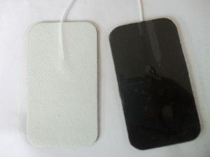 Pads Electro Sticked Electric Pulse Shock Electrode Pads for TENS EMS Machine Massager Non-foven Fax 9 * 5cm