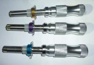 Novas Ferramentas de Serralheiro HUK para 3 pçs / set 7 pin conjunto de escolha de bloqueio tubular avançado, Padlock Ferramenta Cross Pick Tubular Pick