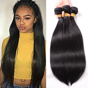Cheap Straight Malaysian Virgin Hair Weave 3 Bundles Straight Human Hair Extensions Malaysian Human Hair Products