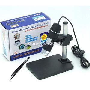 Wholesale-Free Versand 1000x USB Digital Mikroskop + Halter (neu), 8-LED-Endoskop mit Mess-Software USB-Mikroskop + Pinzette