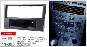 CARAV 11-025 Car Stereo Radio Fascia Plate Panel Frame Kit For OPEL DAEWOO  GMC w pocket Stereo facia surround install trim fit Dash Kit