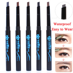 2 pcs de haute qualité crayon à sourcils 2014 nouvelle imperméable brun front sourcils crayons sourcils stylo à maquillage sourcils livraison gratuite -6891
