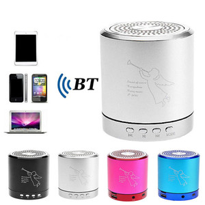 Engel T2020 tragbare drahtlose Bluetooth Mini Bass-Stereo-Lautsprecher-Metall-Legierung Unterstützungs-TF-Karte USB-Handfree HiFi Musci Spieler-Box