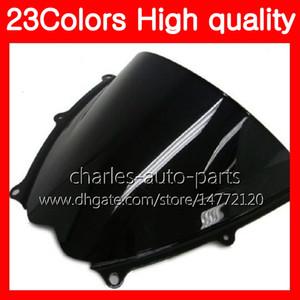 زجاج أمامي جديد 100٪ لسوزوكي GSXR-1000 08 GSXR1000 GSXR 1000 07 08 GSX R1000 K7 2007 2008 Chrome Black Clear Smoke Windshield