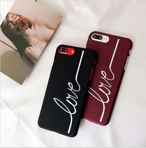 النساء الرجال الأزواج الحب المطبوعة الحالات غطاء الهاتف لآيفون 8 8 زائد 6 6 ثانية 6 زائد 7 7 زائد كوكه fundas capinha celular لفون الهاتف أداة