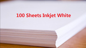 DHL Fast Delivery 100 Sheets A4 Laser Printer Water Slide Decal Paper Sheets White Color