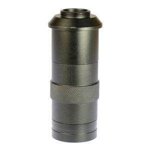 Freeshipping Lentille de l'Industrie 8X -100X Grossissement Réglable Zoom 25mm Objectif C-Mont Verre pour Industrie Microscope Caméra Oculaire Loupe