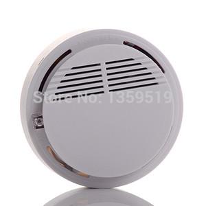 Détecteur d'incendie sans fil détecteur de fumée alarme système de sécurité domestique blanc dans le paquet de vente au détail dropshipping 200pcs / lot