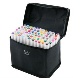 TouchFive 80 colori MANGA GRAPHIC ARTS + ART MARKERS-dibujo timbro penna colori nella borsa porta pennarelli hidrocor SPEDIZIONE IMMEDIATA