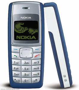 Yenilenmiş Orijinal Cep Telefonu Nokia 1110 Cep Telefonu Unlocked ucuz cep telefonları 1 Yıl Garanti 2G Ağı