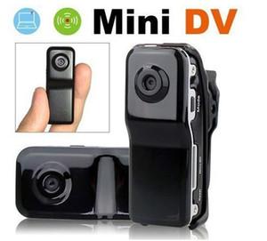Mini DV DVR Deportes Cámara de video MD80 DVR 720x480 Casco Cámara Acción Cam videocámara Grabación de video digital con caja al por menor