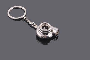 Beliebteste Turbo KeyRing Schlüsselanhänger Persönlichkeit Legierung Luftgebläse Schlüsselanhänger Kette Turbine Turbolader Gleitlager