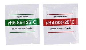 20 زوج / مجموعة PH العازلة مسحوق ل PH اختبار متر قياس حل المعايرة 4.00 6.86 نقطة المعايرة