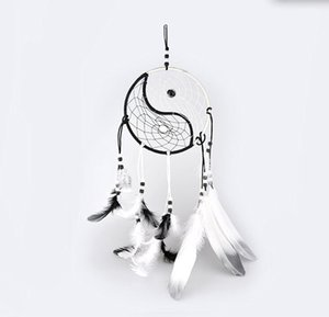 Tissé à la main Dream Catcher Chinois Traditionnel Tai Chi Style Carillons de Vent Dreamcatcher Car Décoration Pendentif décor à la maison
