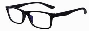 Marcos de anteojos de marca clásicas al por menor marcos ópticos de plástico coloridos gafas de gafas lisas en bastante buena calidad