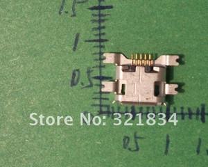 1000pcs / lot 마이크로 미니 5p USB 커넥터 USB 잭 소켓, 싱킹 플레이트 커넥터