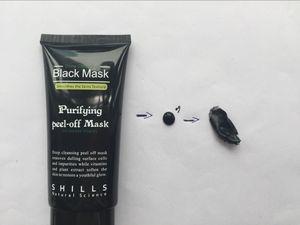 2020 Shills Peel-off maschere per il viso in profondità che puliscono MASCHERINA nera 50ML comedone Maschera per il viso Shills pulizia profonda MASCHERINA nera