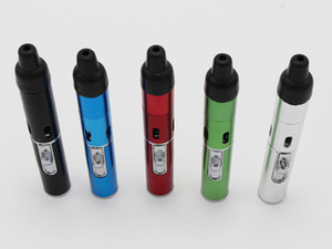 2016 Sneak A Vape Click N Vape Mini Herbal Vaporizer Smoking Pipe Touch Flame Lighter with Built-in Wind Proof Jet Flame Torch Lighter