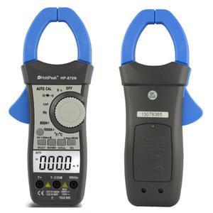Freeshipping Auto Range DC-Wechselstrom-Digital-Digital-Zangen-Multimeter Pinza Amperimetrica Amperimetro True RMS Frequency Backlight