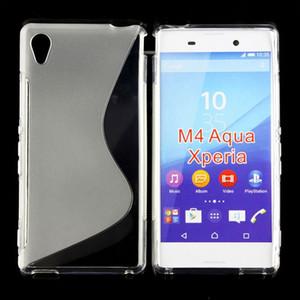 Para HTC Oceano U11 E66 Um X10 U Ultra Oceano Nota U Jogar Alpine Parafuso Desejo 10 caso Evo Sony Xperia M4 do Aqua S linha mole TPU Gel capa de pele
