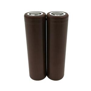 Batterie au lithium rechargeable HG2 au lithium rechargeable HG2 de la capacité maximum des batteries 18650 HG2 / 3000mAh pour le ciga électronique de LG