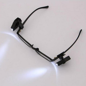 Flexible Book Reading Lights Nachtlicht für Brillen und Werkzeuge Mini LED Brillen Clip On Universal Portable