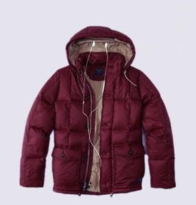 Top de vendas dos EUA Warmed NY jaqueta de algodão para baixo com hoodies menino Punk Patchwork zipper Parkas jaqueta sopro Flying Parker Outerwear Casacos dos homens
