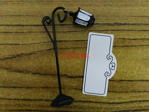 Free Shipping Bourbon Street Streetlight Wedding Place Card Holder Wedding Favors Gifts Party Accessory Decoration Supplies